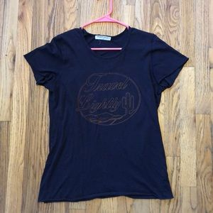 Project Social T travel graphic tee